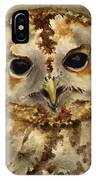 Baby Barred Owl IPhone Case