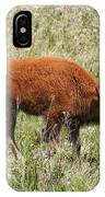 Baby Bison IPhone Case