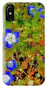 Baby Blue Eyes 3 IPhone Case