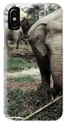 baby Elephant Color IPhone Case