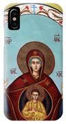 Baby Jesus In Orthodox Church IPhone Case