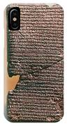 Babylonian Clay Tablet IPhone Case