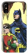 Back In The Batcave IPhone Case