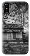 Back Road Farm House IPhone Case