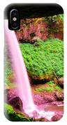 Back Side Of Silver Falls IPhone Case