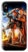 Back To The Future Part IIi 1990 IPhone Case