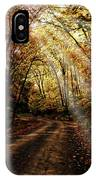 Backcountry Road IPhone Case