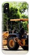 Backhoe And Loader 12118 IPhone Case