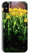 Backlit Tulips IPhone Case