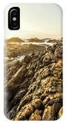 Backpacking A Tropical Sundown IPhone Case