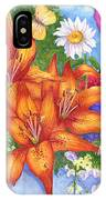 Backyard Bouquet IPhone Case