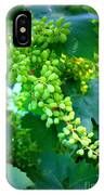 Backyard Garden Series - Young Grapes IPhone Case
