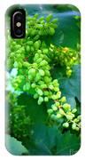 Backyard Garden Series - Young Grapes IPhone Case