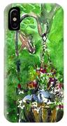 Backyard Hanging Plant IPhone Case
