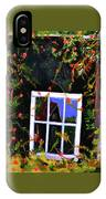 Backyard Window IPhone Case