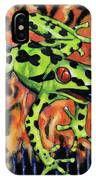 Bad Froggy In Hell IPhone Case