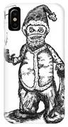 Bad Santa IPhone Case