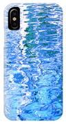 Baffling Blue Water IPhone Case