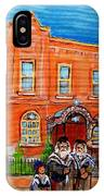 Bagg Street Synagogue Sabbath IPhone Case