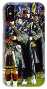 Bagpipes IPhone Case
