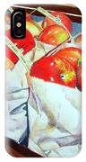 Bags Of Apples IPhone Case