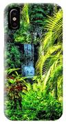 Bahamas - Tropical Waterfall IPhone Case