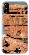 Balanced Rock At Garden Of The Gods IPhone Case