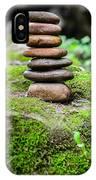 Balancing Zen Stones IIi IPhone Case