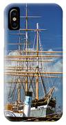 Balclutha Mast And Rigging IPhone Case