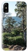 Balcony At Hood River IPhone Case