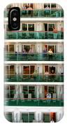 Balcony People IPhone Case