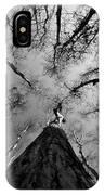 Bald Cypress Sky IPhone Case