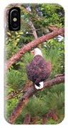 Bald Eagle Fresh Catch IPhone Case