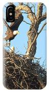 Bald Eagle Leaving The Nest IPhone Case