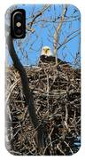 Bald Eagle Lookout  3661 IPhone Case