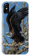Bald Eagle Pushes Off For Launch IPhone Case