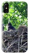 Bald Eaglet's 5 Wks 2 IPhone Case