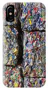 Bales Of Aluminum Cans IPhone Case