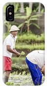 Bali Farming IPhone Case