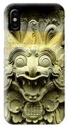 Bali Temple Art IPhone Case