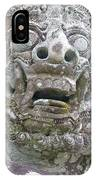 Balinese Temple Guardian IPhone Case