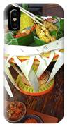 Balinese Traditional Dinner Basket IPhone X Case