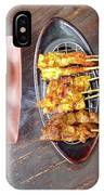 Balinese Traditional Satay IPhone X Case