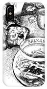 Balkan Cartoon, 1939 IPhone Case
