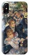 Ball At The Moulin De La Galette 1876 IPhone Case