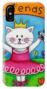 Ballerina Friends IPhone Case