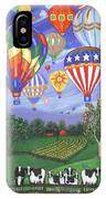 Balloon Race Two IPhone Case