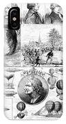 Ballooning, 1884 IPhone Case
