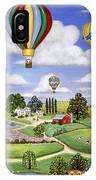 Ballooning In The Country One IPhone Case