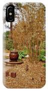 Bamboo At The Botanical Gardens IPhone Case